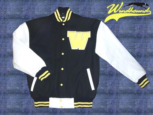 ... Windhound College Jacke, Echtlederärmel, 24oz Wolle, american Patches,  Blau, 3 color 1ab0c6799f
